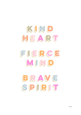 Girl Power - colourful words