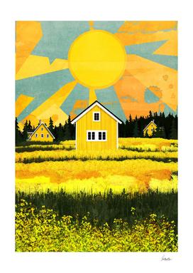 yellow village