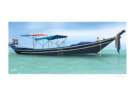 Thailand vacation boat