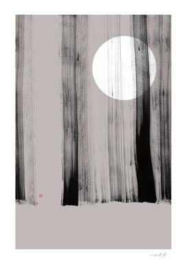 Hidden Moon n° 1 (Behind The Trees)