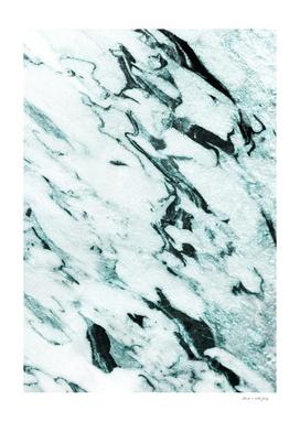 Teal Marble Glam #1 #marble #decor #art