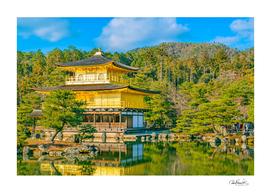 Kinkakuji Golden Pavilion, Kyoto - Japan