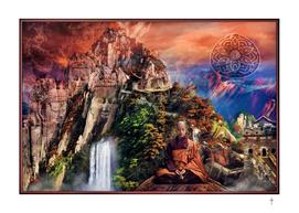 The Mountain Of Buddha