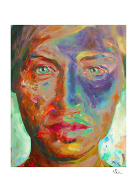 Face in Saturated Color's