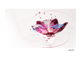 Electronic 3D Flower