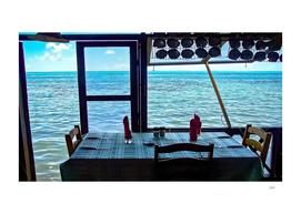 Lunch on Bora Bora