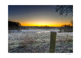 A cold start to the day