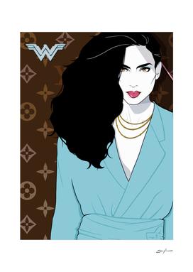 Diana in Blue Dress 2
