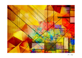 Modern Geometric Abstract