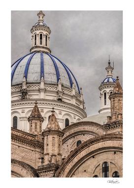 Immaculate Conception Cathedral Cuenca, Ecuador