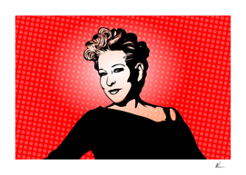 Bette Midler | Pop Art by William Cuccio
