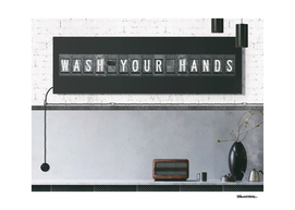 Wash your hands - fight corona