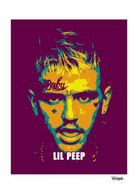 Lil Peep Pop Art