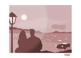 inamorati in spiaggia