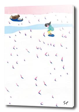 Snow Stubble