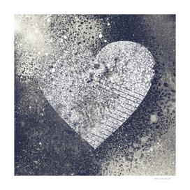 Safe From Harm | graffiti spray paint heart painting