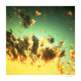 NEPHELAI SERIES Radiant sunset sky