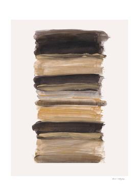 Abstract Minimalism Brushstrokes #2 #minimal #ink #decor