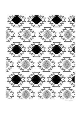 Minimal Tribal Boho Pattern Chic #2 #aztec #decor #art