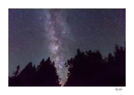 Milky Way in the gap