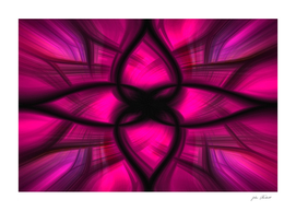 Pink Power Abstract Art
