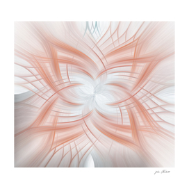 Rose Gold Abstract Art
