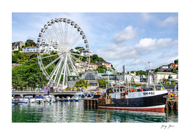 Torquay Marina England