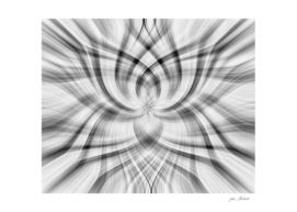 Black & Grey abstract art