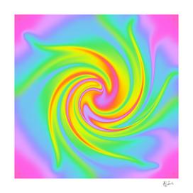 Magical Rainbow Swirl