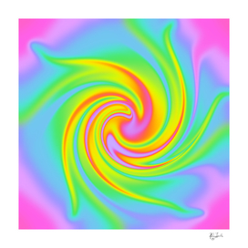 Magical Rainbow Swirl