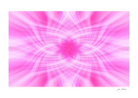 Floral Pink Abstract Art
