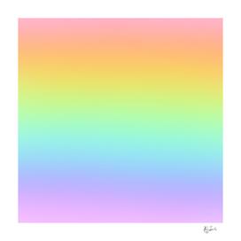 Pastel Rainbow Ombre