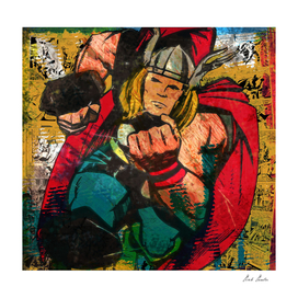 Thunder Thor Art