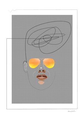 Unknown Man With Sunglasses
