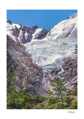 Huemul Glacier, Patagonia, Argentina