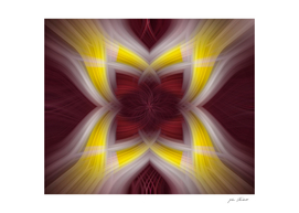Yellow & Purple Abstract