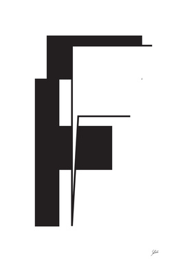 Typography letter F