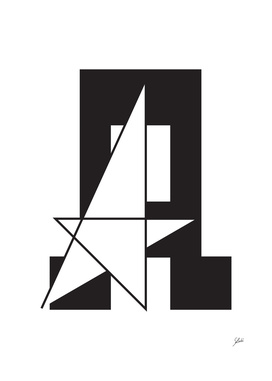 Typography letter A