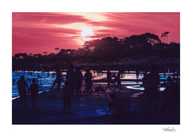 Parque del Plata Beach, Canelones - Uruguay