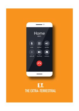 ET The Extra Terrestrial - Alternative Movie Poster