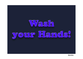 Wash your Hands BLUE – Fight the Epidemic