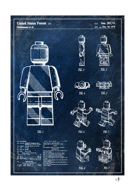 1979 mini figure chalkboard patent