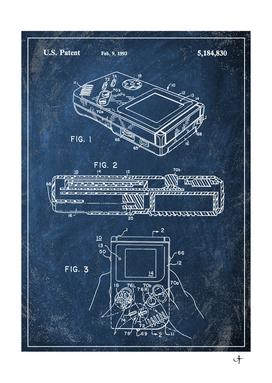 1993 gameboy chalkboard patent