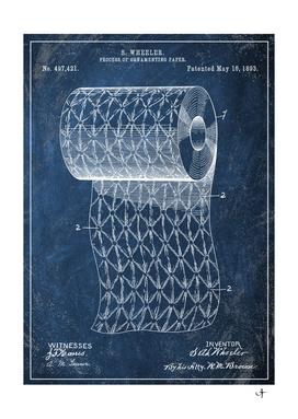 1893 ornamenting paper chalkboard patent