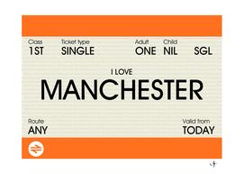 i love manchester ticket