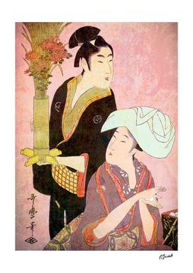 Rice Balls & Flowers