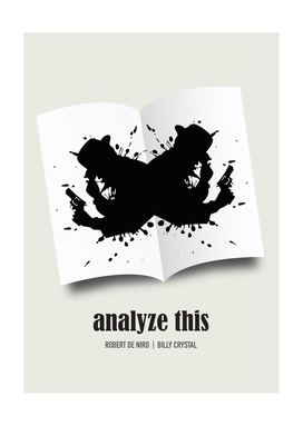 Analyze This - Alternative Movie Poster