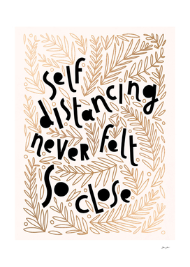 So close apart #selfdistancing #handlettering