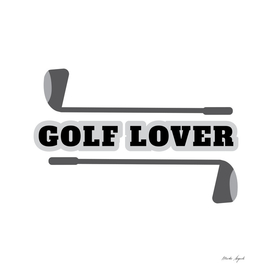 Golf lover sport design