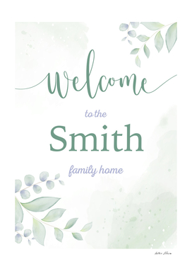 Welcome Smith Family